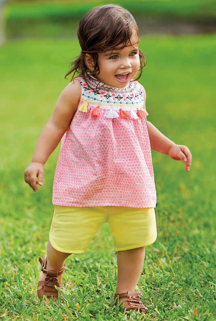Kız Bebek Byram Kıyafetleri