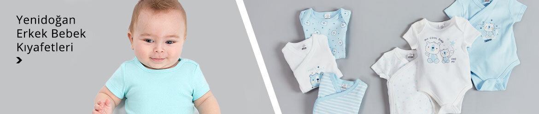 Yenidoğan Erkek Bebek Kıyafetleri