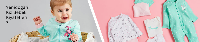 Yenidoğan Kız Bebek Kıyafetleri