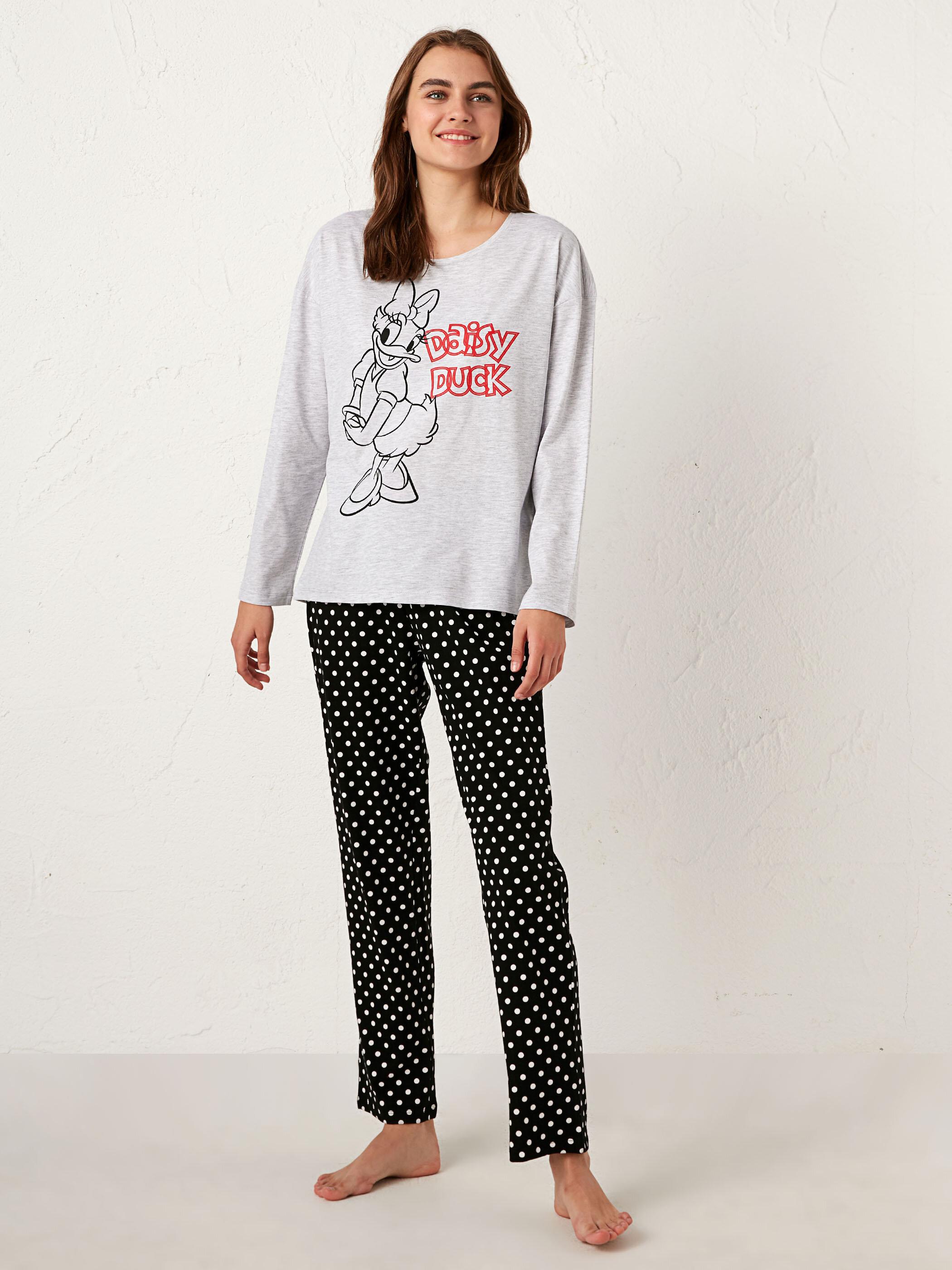 Daisy Duck Baskılı Pijama Takımı - LC WAIKIKI