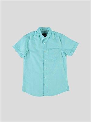 Düz Dar Kısa Kollu Gömlek - LC WAIKIKI