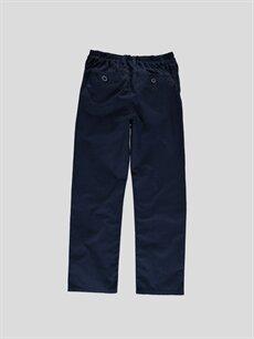 %100 Pamuk  Lacivert Pantolon