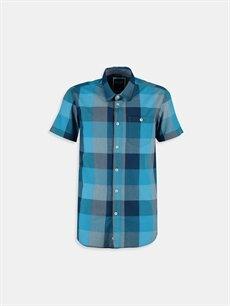 Mavi Mavi Kısa Kollu Gömlek 6YF788Z6 LC Waikiki