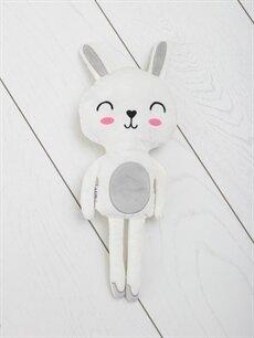 Tavşan Figürlü Kalın Dolgulu Kırlent