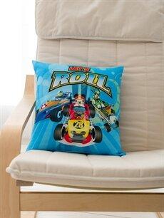 %100 Polyester Lisanslı Dolgulu Kırlent Mickey Mouse Lisanslı Kırlent