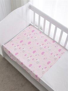 %100 Pamuk Bebek Battaniye Kız Bebek Müslin Battaniye