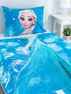 LC Waikiki Pembe Elsa Lisanslı Nevresim Takımı