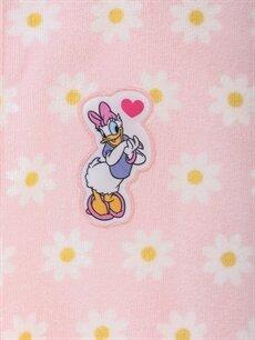 %100 Pamuk Daisy Duck Bornoz