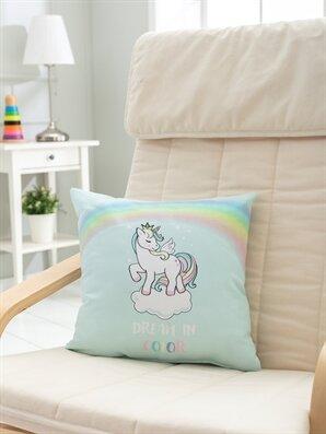 Unicorn Baskılı Kırlent - LCW HOME