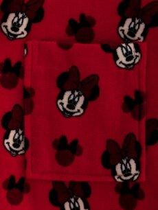 %100 Pamuk Minnie Mouse Lisanslı Çocuk Bornoz