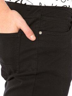 %97 Pamuk %3 Elastan Slim Gabardin Pantolon
