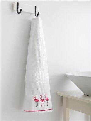Flamingo Nakışlı Kurulama Bezi - LCW HOME