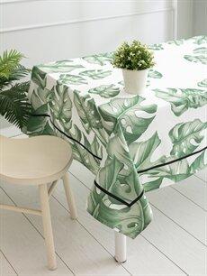 Yeşil Yaprak Desenli Masa Örtüsü 9SJ570Z8 LC Waikiki