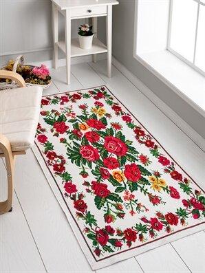 Çiçekli İnce Halı - LCW HOME