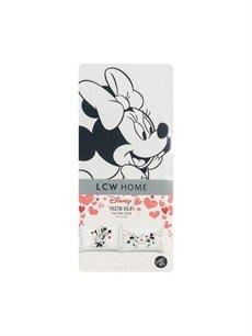 %100 Pamuk Minnie-Mickey Mouse Yastık Kılıfı 2'li