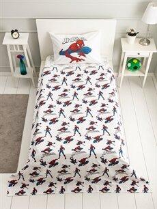 %100 Pamuk Çocuk Pike Takımı Spiderman Lisanslı Çocuk Pike Takımı