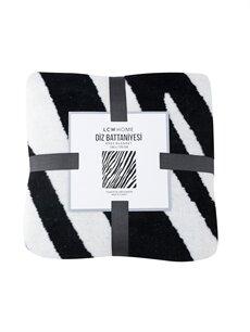 Zebra Desenli Diz Battaniyesi