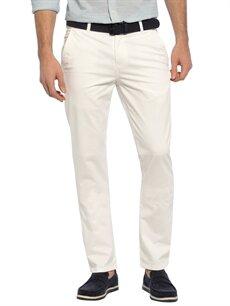 Beyaz Dar Kalıp Gabardin Chino Pantolon 7Y0169Z8 LC Waikiki