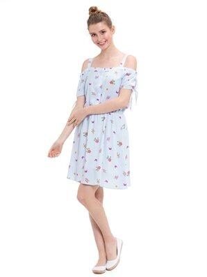 377e4192ba023 Genç Elbise Modelleri - 8 - 16 Yaş Genç Kız Elbiseleri - LC Waikiki