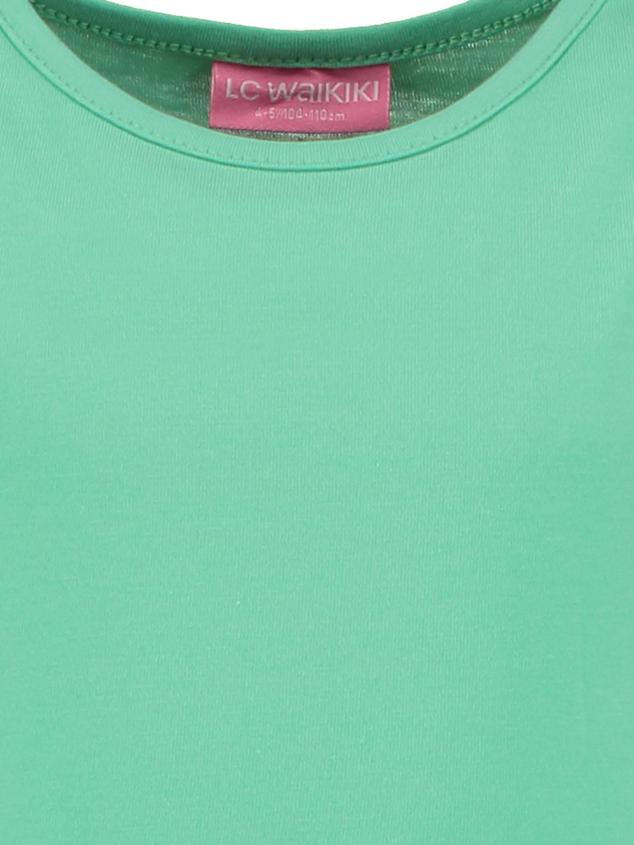 Fiyonk Detaylı Düz Örme Elbise -7Y2727Z4-G8U