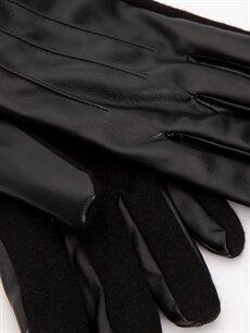 %100 Poliüretan %100 Polyester Atkı, Bere ve Eldiven Deri Görünümlü Eldiven
