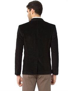 %98 Pamuk %2 Elastan %100 Polyester  Blazer Kadife Ceket