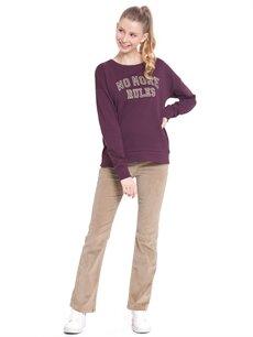 Genç Kız Kadife Pantolon