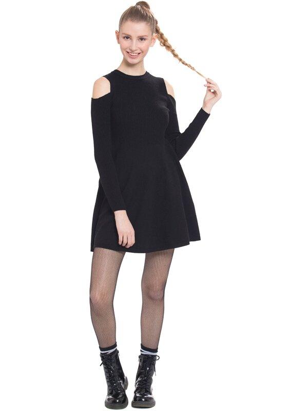 Omuzları Açık Elbise - LC WAIKIKI