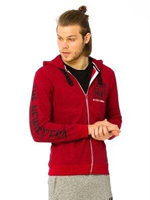 Fermuarlı Kapüşonlu Sweatshirt - LC WAIKIKI
