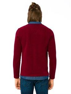 %49 Polyester %21 Viskoz %30 Akrilik Normal Baskılı Tişört Polo Polo Yaka Tişört