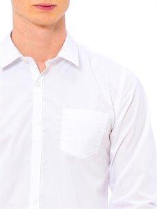 LC Waikiki Beyaz Extra Dar Poplin Gömlek