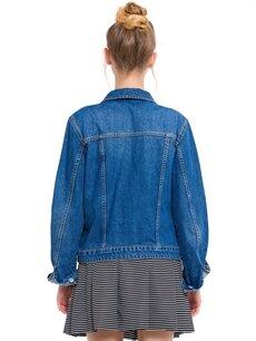 Genç Kız Jean Ceket