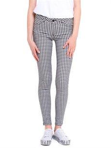 %66 Pamuk %30 Polyester %4 Elastan Normal Bel Dar Normal Bel Dar Pantolon