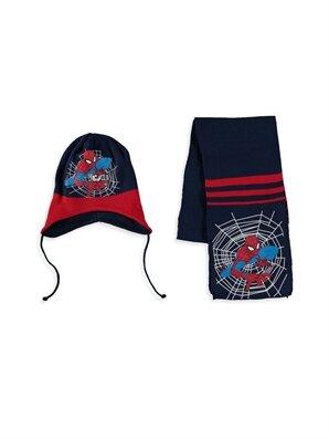 Erkek Çocuk Spiderman Atkı ve Bere - LC WAIKIKI