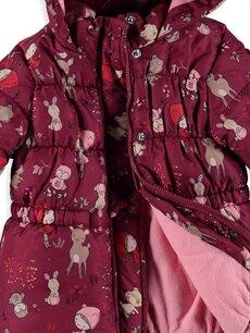 Kız Bebek Kız Bebek Polar Astarlı Mont