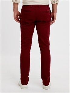 Erkek Slim Gabardin Pantolon