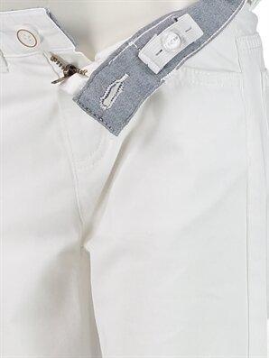 Standart Kalıp Gabardin Pantolon -8S0524Z4-FFB