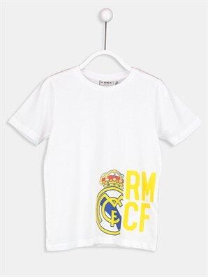 Real Madrid Pamuklu Tişört - LC WAIKIKI