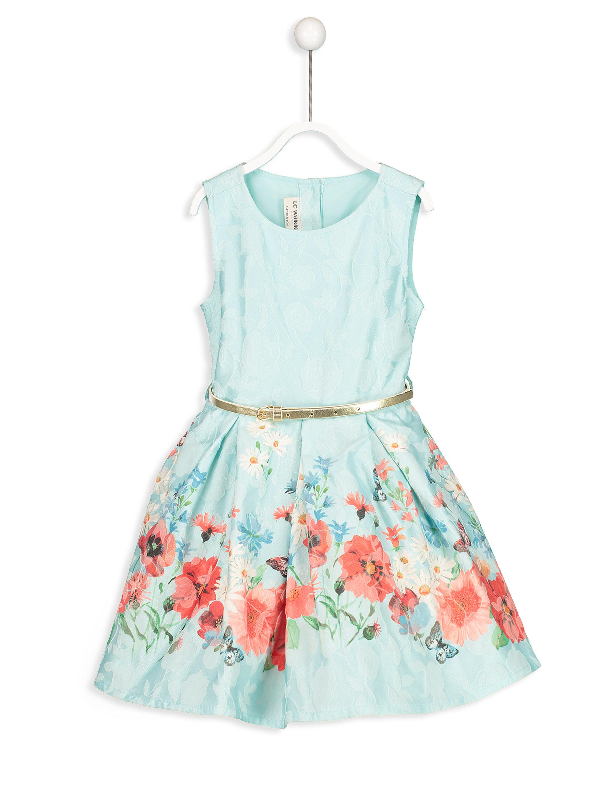 Çiçek Desenli Elbise -8SH654Z4-629