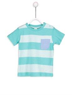 Erkek Bebek Erkek Bebek Çizgili Tişört 2'li