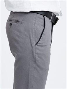 %97 Pamuk %3 Elastan Standart Kalıp Armürlü Pantolon