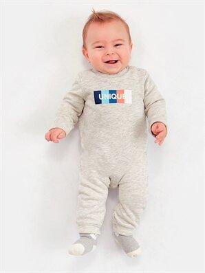 Erkek Bebek Çıtçıtlı Tulum -8WM808Z1-J2B