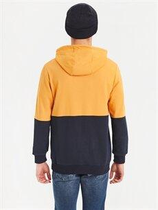 %68 Pamuk %32 Polyester  Kapüşonlu Sweatshirt