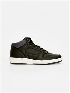 Siyah Bağcıklı Spor Ayakkabı 8WO737Z8 LC Waikiki