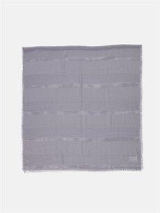 %100 Polyester Fular ve Şal Saçaklı Şal