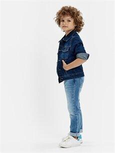 Erkek Çocuk Jean Ceket