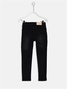%74 Pamuk %25 Polyester %1 Elastan Normal Bel Dar Skinny Jean Pantolon