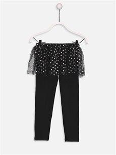 Kız Çocuk Baskılı Uzun Kollu Pijama Takımı
