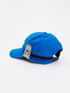 Erkek Çocuk Erkek Çocuk Aplikeli Şapka