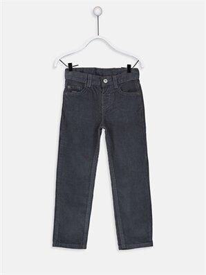 Erkek Çocuk Standart Kalıp Kadife Pantolon - LC WAIKIKI